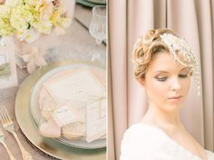 Luxe Wedding Inspiration - created by Chanele Rose Flowers & Events, Blissfully Sweet, Yummy Cupcakes and Cakes, The Little Paper Pantry and Hannah Lundberg Photography