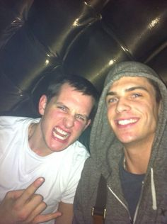 Bartosz Kurek and Matthew Anderson! :)  Source - Matt Anderson's Twitter :)