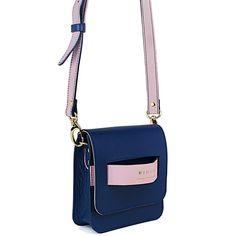 Mini Bag Sampa Marinho - www.binari.com.br