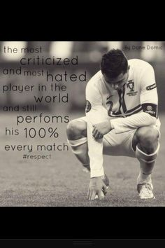 RESPECT is all I've got for you cr7