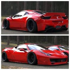 Ferrari 458 Widebody is gorgeous!