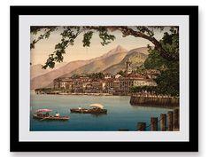 Art Print, Italy, Lake Maggiore, Photo, Photography, Print, Historical, Italia, Scenic, Wall Art, Italian History, Boats, Scenery, Lakes