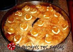 Σαρούν Κελύν συνταγή από ansou - Cookpad Greek Sweets, Greek Desserts, Greek Recipes, Cookbook Recipes, Dessert Recipes, Cooking Recipes, Greek Cooking, Sweets Cake, Cake Pops
