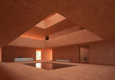 david chipperfield architects designs the marrakech museum for photography and visual arts (MMP+) - designboom David Chipperfield Architecture, Brick Architecture, Minimalist Architecture, Contemporary Architecture, Interior Architecture, Architecture Facts, Singapore Architecture, Computer Architecture, Museum Architecture