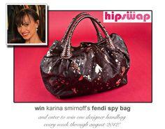 Fendi Spy Bag - HipSwap Giveaway Week 1 #winthisbag