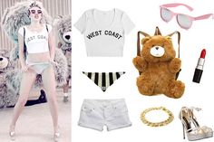 """Miley Cyrus """"We Can't Stop"""" video costume"""