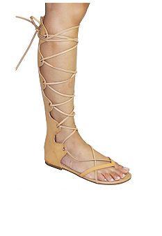 C. Label David Front Lace Sandal - Belk.com