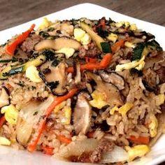 Korean Recipe Bibimbap Rice Image