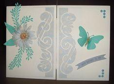 Slider card.   docrafts.com Slider Cards, Sliders, I Card, Notebook, Happy, Projects, Log Projects, Blue Prints, Ser Feliz