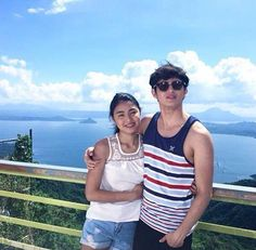 """""""A dream you dream alone is only a dream. A dream you dream together is a reality. James Reid, Nadine Lustre, Asian Boys, John Lennon, Relationship Goals, Dreaming Of You, Tv Series, Tank Man, Couple Photos"""