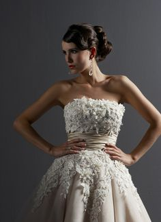 Pretty much fell in love with this when I saw it at a bridal boutique. I want it!!