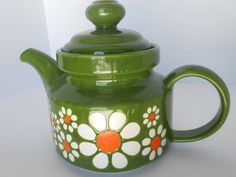 Vintage Teapot Waechtersbach West Germany by StoreFourandMore