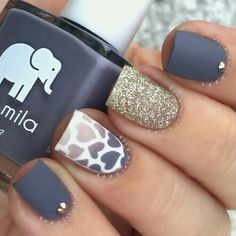 Nail art matte - LOVE the matte!