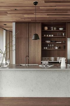 Nordic Kitchen, Home Decor Kitchen, Kitchen Interior, Cheap Rustic Decor, Cheap Home Decor, Mawa Design, Natural Home Decor, Cuisines Design, Elle Decor