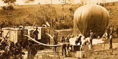 Hydrogen Balloon, early 1900's
