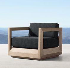 Paloma Teak Lounge Chair