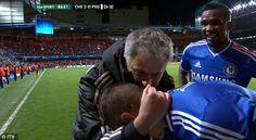 Jose Mourinho claims he wasn't celebrating Chelsea's winner ...