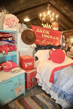 On the Junkin' Trail to Junk Gypsy Co in Round Top, Tx Junk Gypsy Bedroom, Gypsy Room, Cowgirl Bedroom, Western Bedroom Decor, Western Rooms, Western Decor, Country Decor, Work Office Design, Office Designs