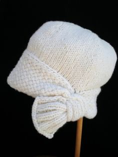 PDF Knitting Pattern Flapper Cloche Hat by ohmay on Etsy