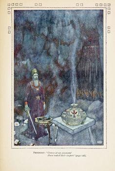 Edmund Dulac - The Tempest.