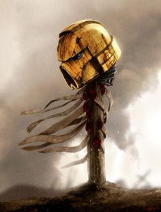 """Warhammer 40k artwork, Imperial Fists Space Marines. """"Lost but not forgotten"""""""
