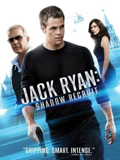 """Based on the CIA analyst created by espionage master Tom Clancy, """"Jack Ryan: Shadow Recruit"""" is a blistering action thriller that follows Ryan (Chris Pine, """"Star Trek"""") from his quiet double-life as a veteran-turned-Wall Street executive to his all-out initiation as a hunted American agent on the trail of a massive terrorist plot in Moscow."""
