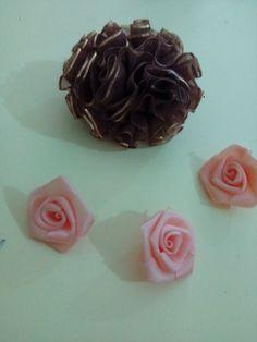 Bros mawar pita organdi