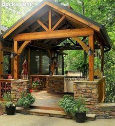 The Best Outdoor Kitchen Design Ideas 03