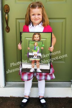 Photo in a photo - what a fab idea!