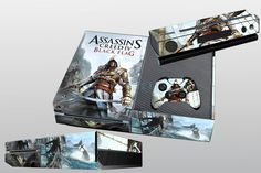 New Assassin Game Skin for X BOX One Console Controller Covers Custom Sticker #UnbrandedGeneric