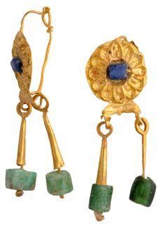 "Archäologisches Museum der WWU Münster - ""Goldener Ohrschmuck"" [Abgebildet: 2510] (museum-digital)"