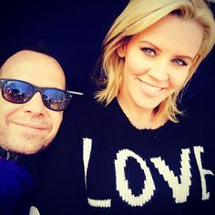 Jenny McCarthy's Engaged to Donnie Wahlberg! Check Out Her Ring