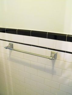Tile Bathroom Trim black and white powder room decorpad approx. black tiling on