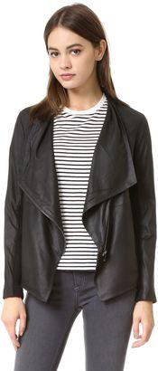 Shop Now - >  https://api.shopstyle.com/action/apiVisitRetailer?id=530403977&pid=uid6996-25233114-59 BB Dakota Kenrick Soft Leather Jacket  ...