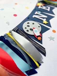 Baby Boy First Birthday, Fall Birthday, Boy Birthday Parties, Birthday Ideas, 3rd Birthday, 1st Birthday Banners, 1st Birthday Decorations Boy, Astronaut Party, Space Party