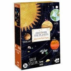 From 6 years old. Travel through the solar system with this puzzle of the planets. When you ride it, you will discover a beautiful surprise. Material Recycled cardboard and paper. Sistema Solar, Traditional Toys, Paper Packaging, Us Map, Stargazing, Kind Mode, Fun Games, Ufo, Animales