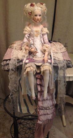 Art Doll Tutorial, Beautiful Barbie Dolls, Living Dolls, Old Dolls, Doll Maker, Ball Jointed Dolls, Vintage Dolls, Blythe Dolls, Doll Toys