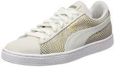 Puma Damen Gold 361862 Sneaker, Weiß -Weiß (White), 39 EU
