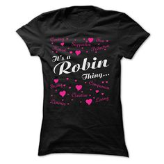 ROBIN THING T-Shirts, Hoodies. GET IT ==► Funny Tee Shirts