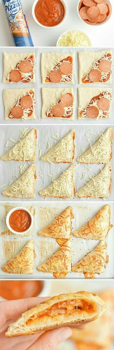 Appetizer Recipes, Snack Recipes, Cooking Recipes, Pizza Recipes, Dinner Recipes, Cheesy Recipes, Cooking Eggs, Healthy Recipes, Pizza Appetizers