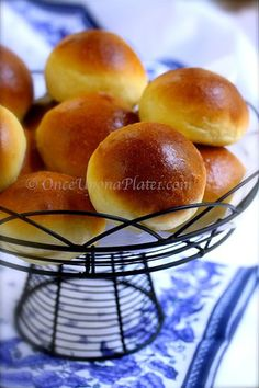 Once Upon a Plate The Recipes: Brioche Buns ~ No special pan needed