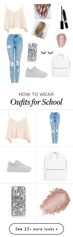 """""""School day"""" by brooklynlangston-1 on Polyvore featuring Topshop and Chelsea28"""