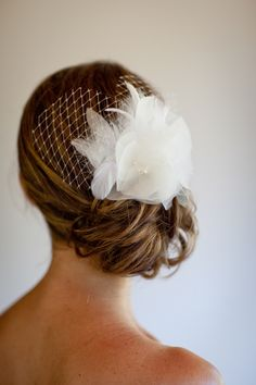 Elegant hair style for Lake Tahoe bride - photos by Catherine Hall Studios | junebugweddings.com