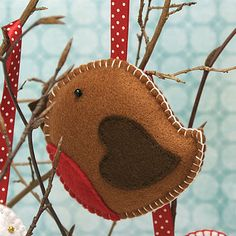 Handmade Felt Christmas Hanging Decoration