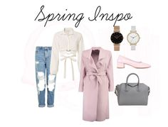 """spring into pink"" by annika-friesen on Polyvore featuring Maryam Nassir Zadeh, Topshop, Cinq à Sept, Boohoo, Givenchy, Skagen and CLUSE"