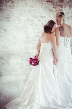 Wife and wife! Lesbain wedding