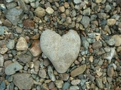 Heart stone... every time my husband goes on a backpacking trip or a hike without me... he brings me back one of these!! <3