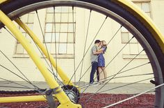 {Engagement Inspiration} : Vintage Bikes - Part 1 - Belle the Magazine . The Wedding Blog For The Sophisticated Bride