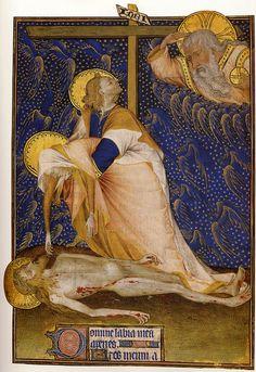 Rohan mstr.Grande Heures de Rohan.Lamentation.c.1430-1435.[Paris].