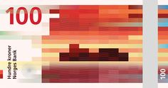 Norway Leads In Governmental Design with New Designs for Passports and Banknotes Graphic Design Company, Graphic Design Inspiration, Creative Inspiration, Helmut Schmid, Pixel Art, Norway News, Novo Design, Poster Design, Wow Art